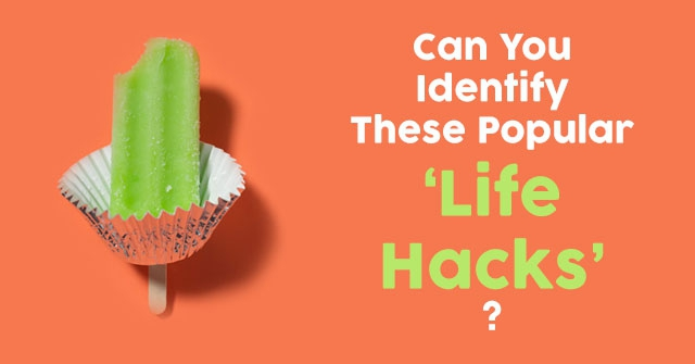 "Can You Identify These Popular ""Life Hacks""?"
