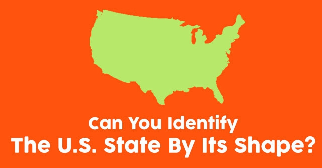 Can You Identify the U.S. State By Its Shape?