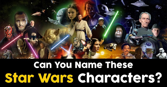 Can You Name These Star Wars Characters?