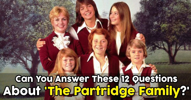 Can You Answer These 12 Questions About 'The Partridge Family?'