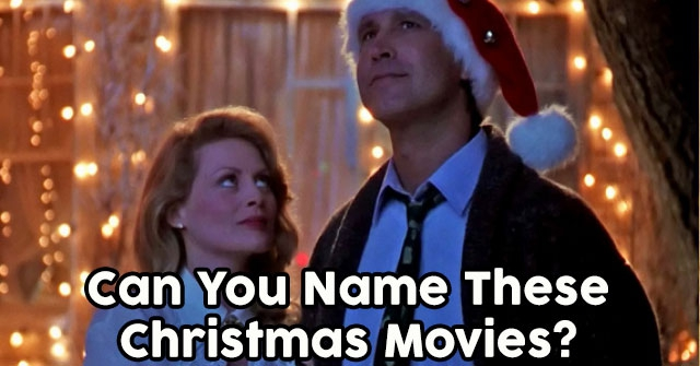 Can You Name These Christmas Movies?