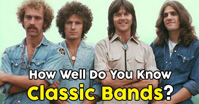 How Well Do You Know Classic Bands?