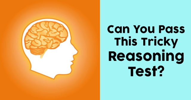 Can You Pass This Tricky Reasoning Test?