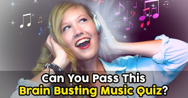 Can You Pass This Brain Busting Music Quiz?