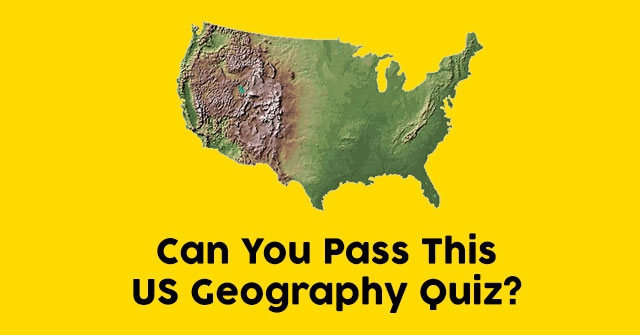 Can You Pass This US Geography Quiz?
