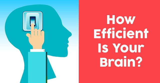 How Efficient Is Your Brain?