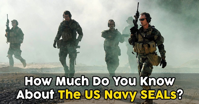 How Much Do You Know About The US Navy SEALs?