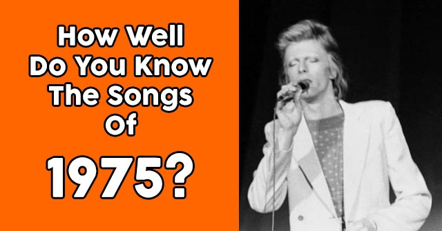 How Well Do You Know The Songs Of 1975?