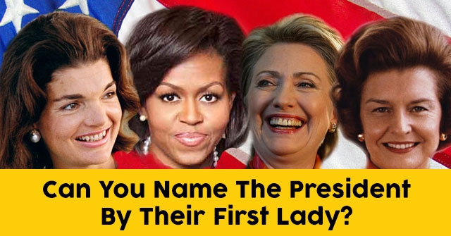 Can You Name The President By Their First Lady?