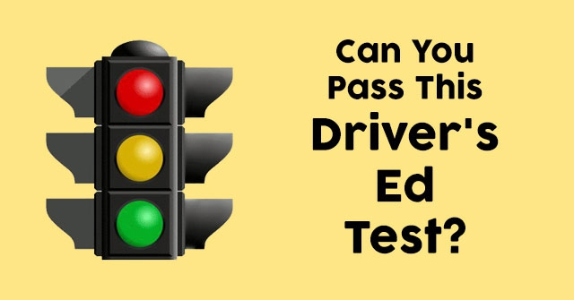 Can You Pass This Driver's Ed Test?