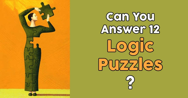 Can You Answer 12 Logic Puzzles?