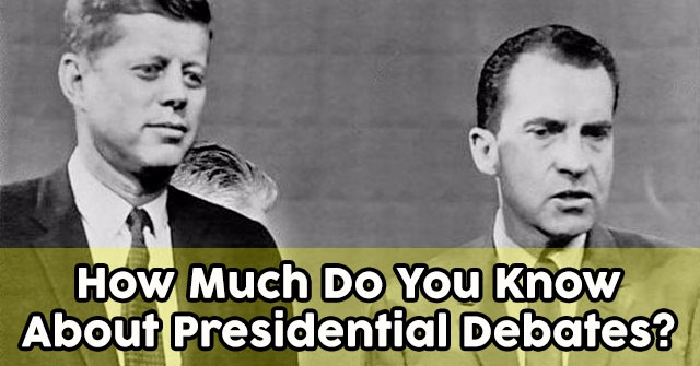 How Much Do You Know About Presidential Debates?