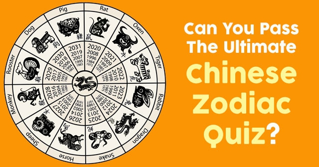 Can You Pass The Ultimate Chinese Zodiac Quiz?