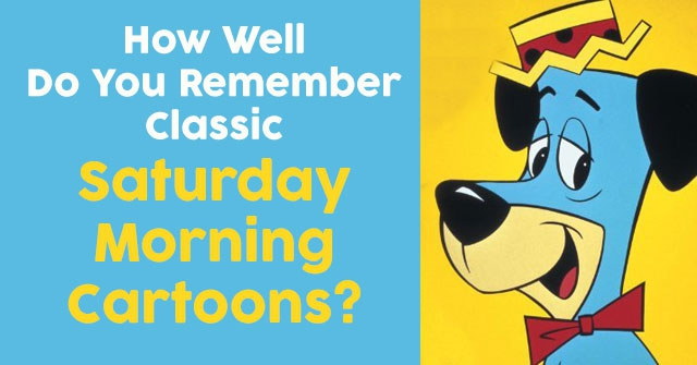 How Well Do You Remember Classic Saturday Morning Cartoons?