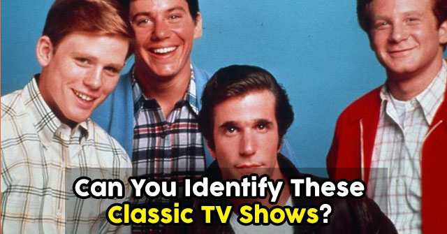 Can You Identify These Classic TV Shows?