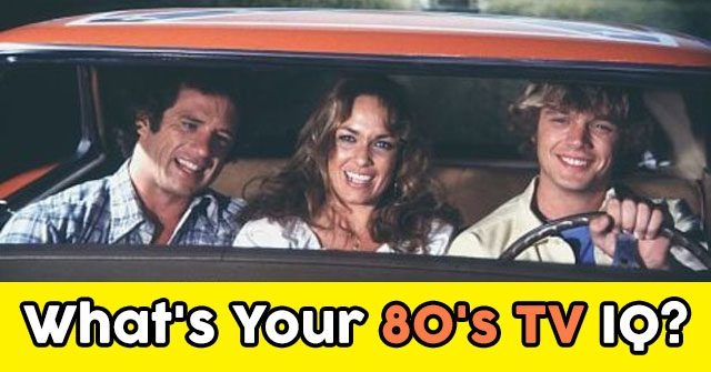 What's Your 80's TV IQ?