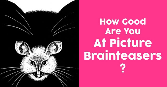 How Good Are You At Picture Brainteasers?