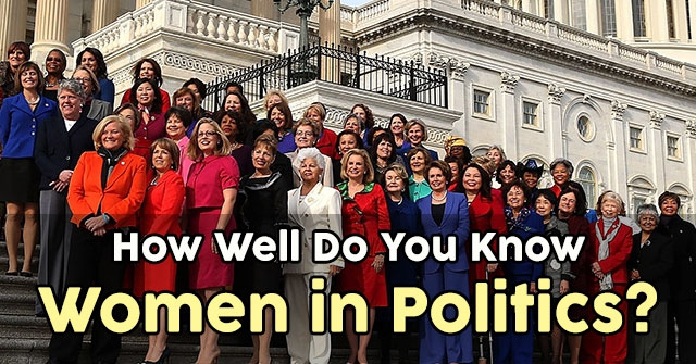 How Well Do You Know Women in Politics?