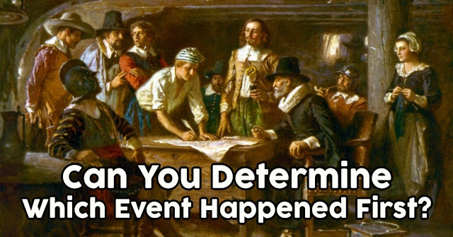 Can You Determine Which Event Happened First?