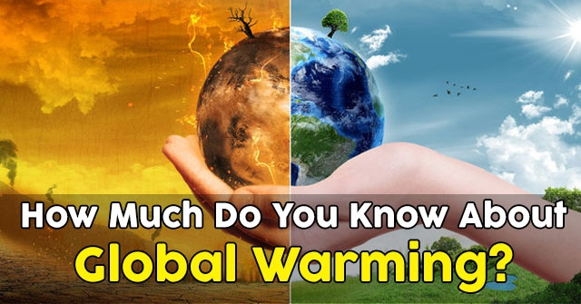 how much do you know about global warming