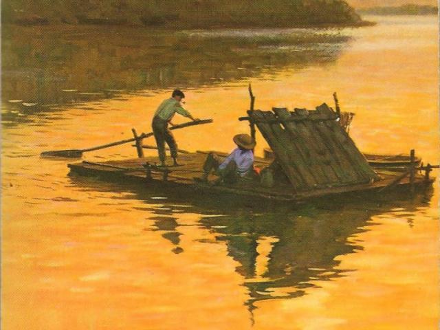 huck finn life on the river essay