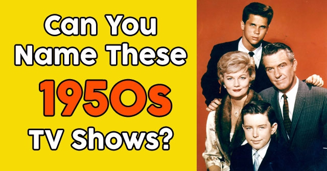 Can You Name These 1950s TV Shows? | QuizPug
