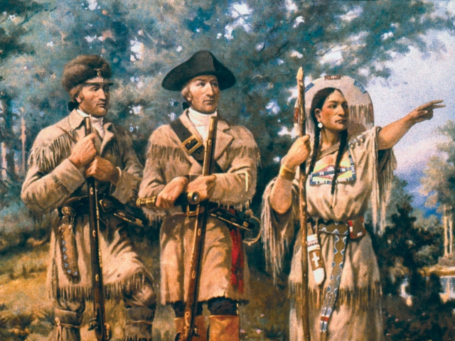 the lewis and clark expedition across the present day united states