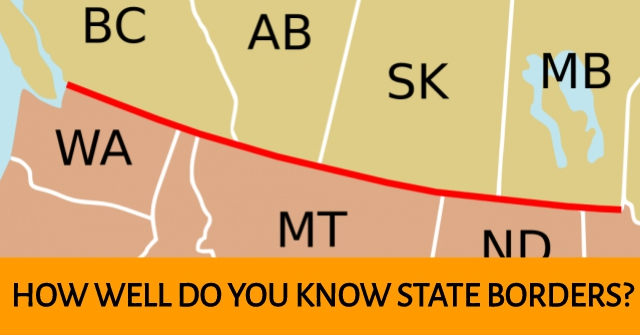 How Well Do You Know State Borders?
