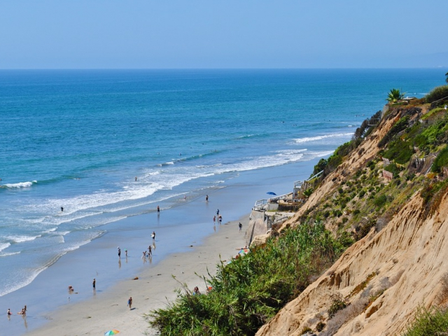 dank green sand beach