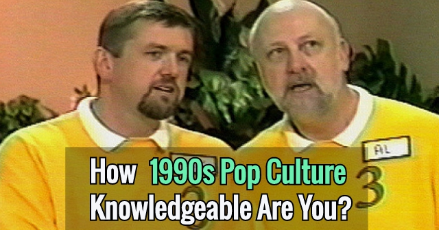 How 1990s Pop Culture Knowledgeable Are You?