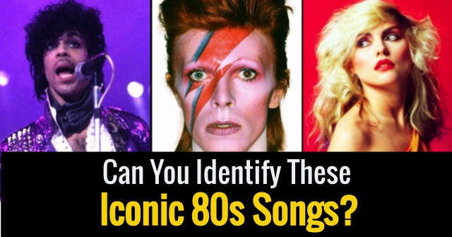 Can You Identify These Iconic 80s Songs?