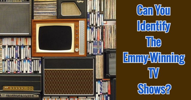 Can You Identify The Emmy-winning Tv Shows?