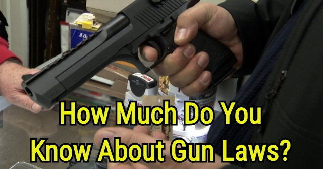 How Much Do You Know About Gun Laws?