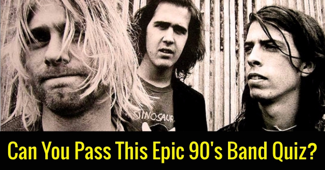 Can You Pass This Epic 90's Band Quiz?