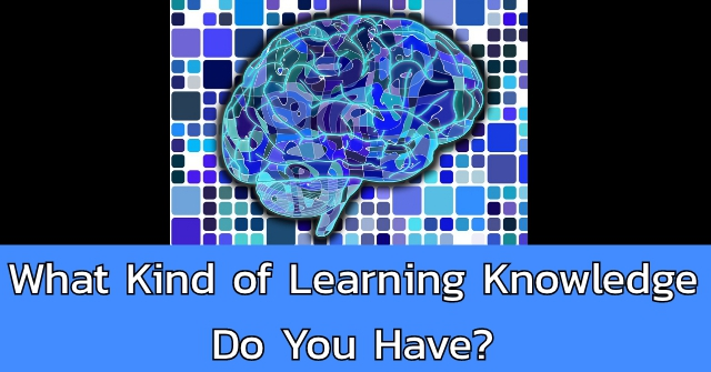 What Kind of Learning Knowledge Do You Have?