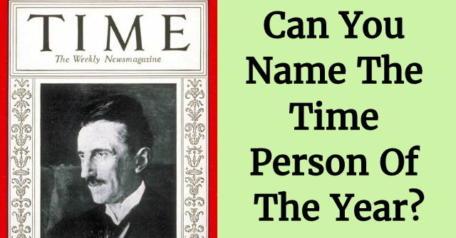 Can You Name The Time Person Of The Year?
