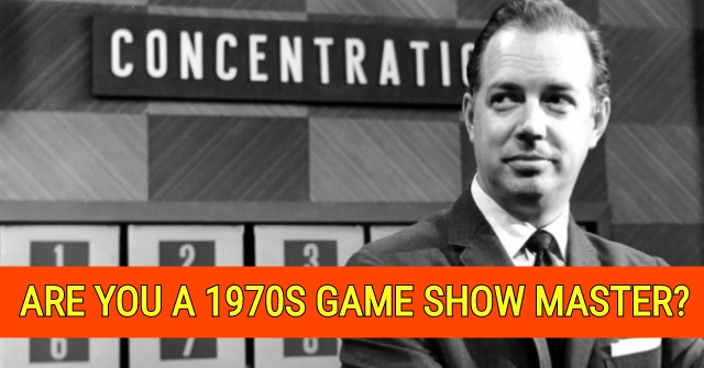 Are You a 1970s Game Show Master?