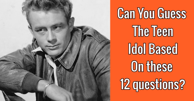 Can You Guess The Teen Idol Based On These 12 Questions?