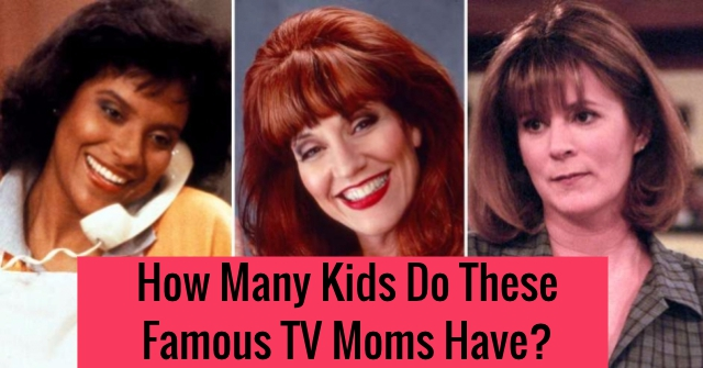 How Many Kids Do These Famous TV Moms Have?