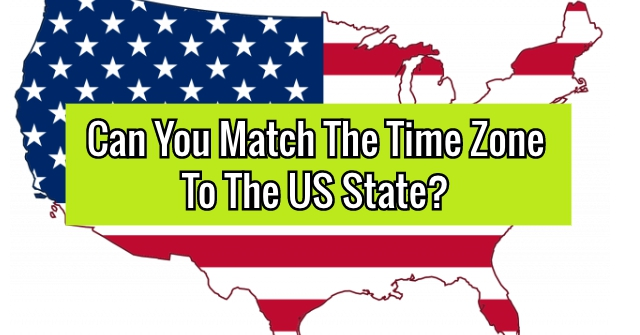 Can You Match The Time Zone To The US State?