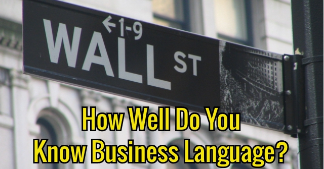 How Well Do You Know Business Language?