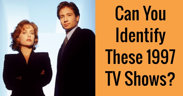 Can You Identify These 1997 TV Shows?