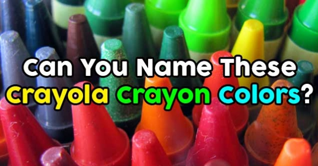 can you name these crayola crayon colors quizpug