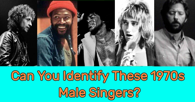 Can You Identify These 1970s Male Singers?
