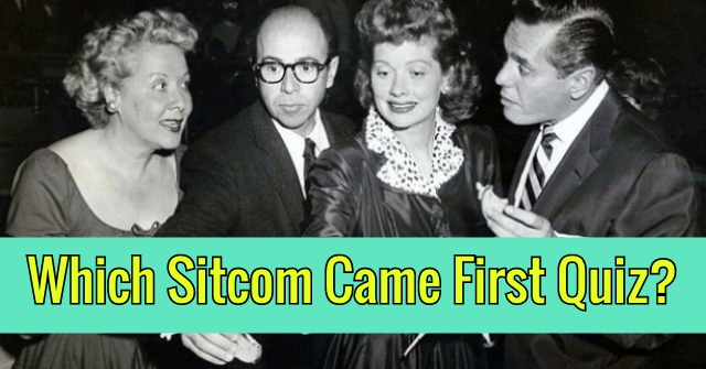Which Sitcom Came First Quiz?