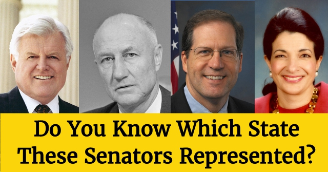 Do You Know Which State These Senators Represented?