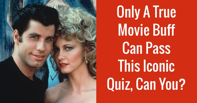 Only A True Movie Buff Can Pass This Iconic Quiz, Can You?
