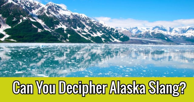 Can You Decipher Alaska Slang?
