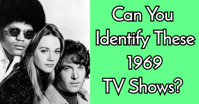 Can You Identify These 1969 TV Shows?