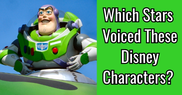 Which Stars Voiced These Disney Characters?